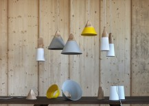 Slope by Skrivo Design for Miniforms in wood and metal 217x155 20 Simple and Sculptural Wooden Pendant Lights