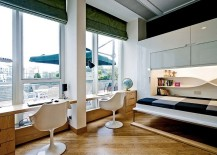 Small-bed-for-the-home-office-that-folds-away-into-the-wall-217x155