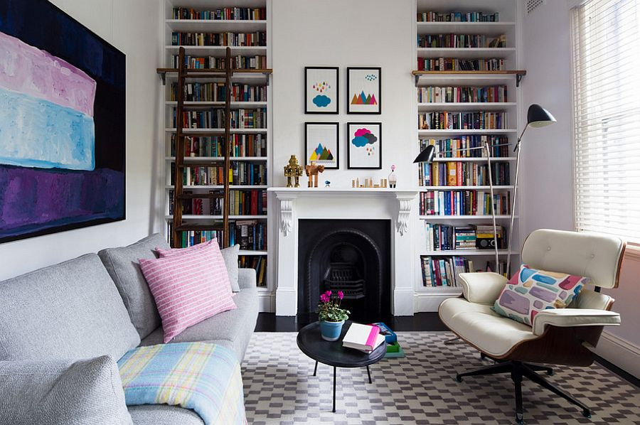 Small living room can pull off the eclectic look as well [Design: Horton & Co. Designers]