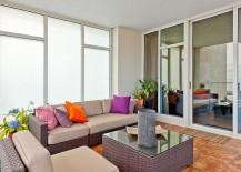 Smart sunroom for the contemporary apartment [Design: Your Design Envy]