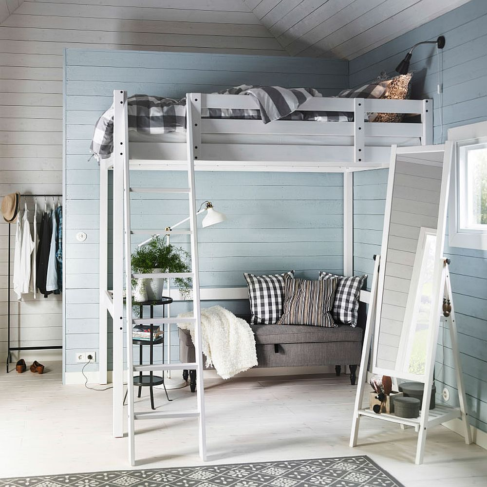 Space Saving Stora Loft Bed Saves Up On Precious Space