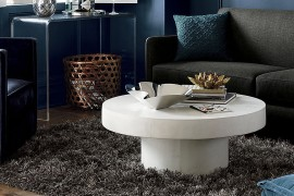 Stone coffee table from CB2