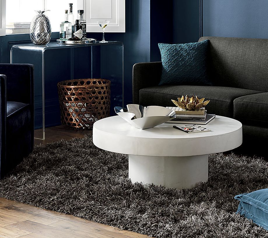 View in gallery Stone coffee table from CB2 - Stone Coffee Tables With Modern Style