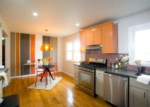 Striped-accent-wall-for-the-kitchen-and-the-breakfast-nook-217x155