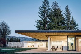 Stone and Cedar Home Nestled among Napa's Magical Vineyards