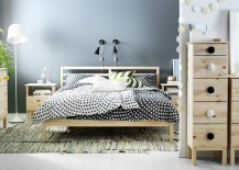TARVA Series of nighstands and chests brings warmth of wood to the bedroom