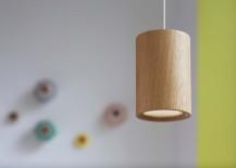 Terence Woodgate Solid Cylinder Pendant Light