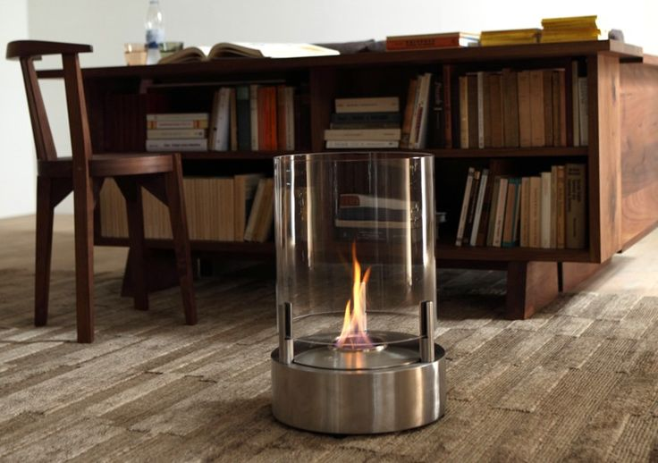 The Cyl tea light fireplace from Ecosmart Fire