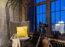 Time to capture the stunning city views from the stylish loft