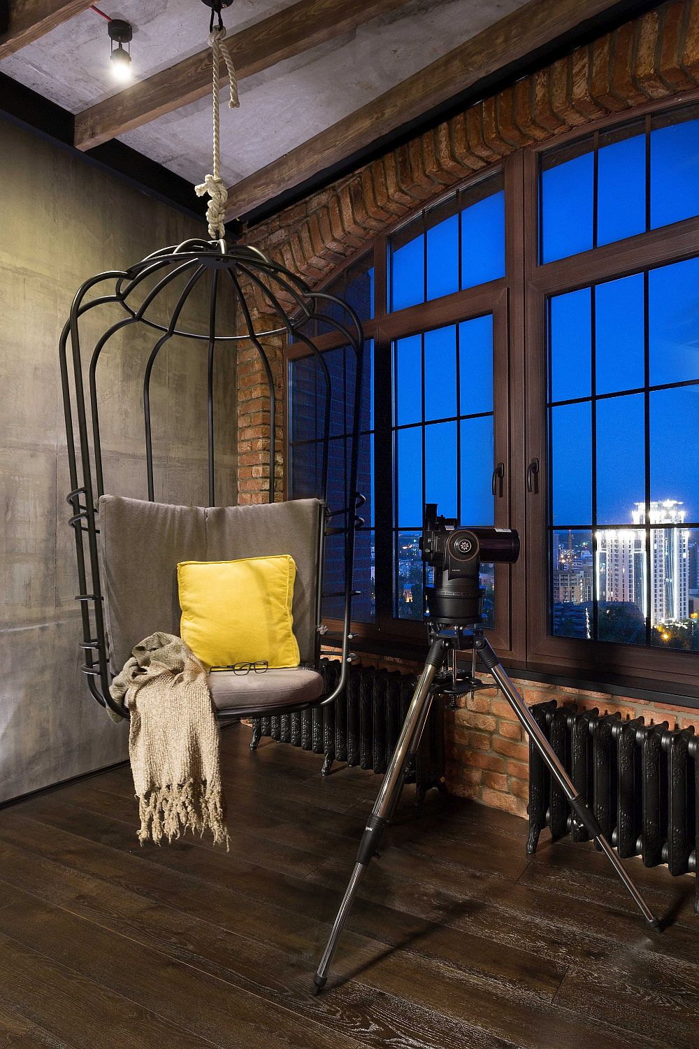 High-End Bachelor Pad Design: Stunning Loft In Kiev By