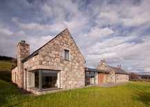 Revitalized Cottage in Stone and Wood Captures the Aura of Scottish Highlands