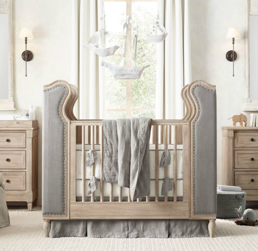 View In Gallery Tufted Crib From RH Baby U0026 Child