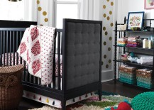 Tufted crib from The Land of Nod 217x155 20 High End Baby Furniture Finds