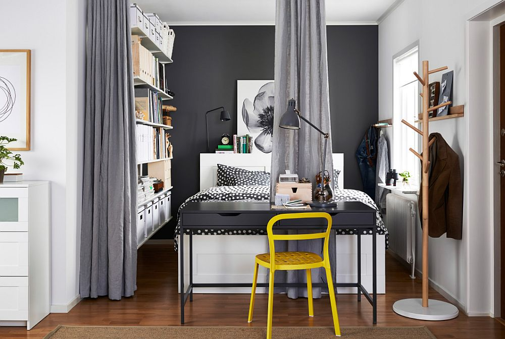 ... Turn That Small Nook Into A Dashing Bedroom