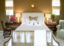 Twin Square Chunky Stacked table lamps for the beach style bedroom