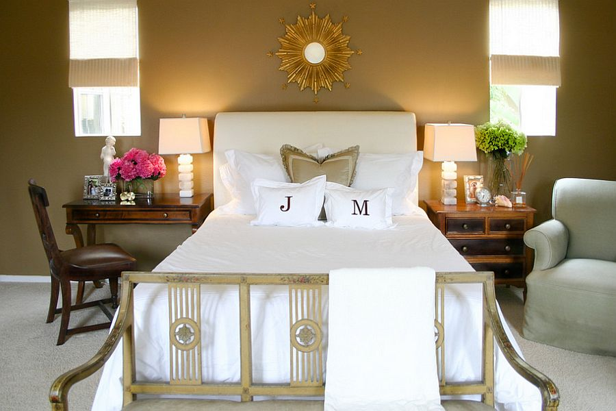 30 bedrooms that wow with mismatched nightstands Decorative Nightstands