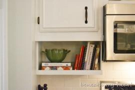 Under the cabinet cookbook holder  15 Unique Kitchen Ideas for Storing Cookbooks Under the cabinet cookbook holder 270x180