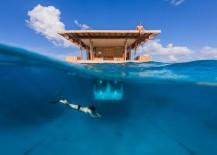 Underwater hotel in Pemba Tanzania