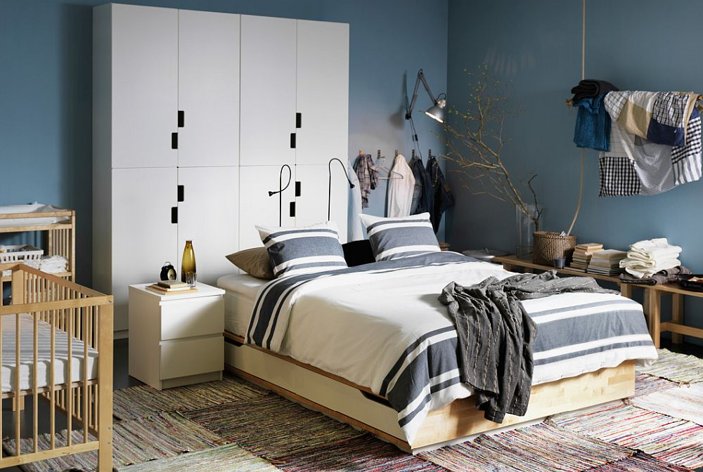 50 ikea bedrooms that look nothing but charming for Ikea room ideas 2015