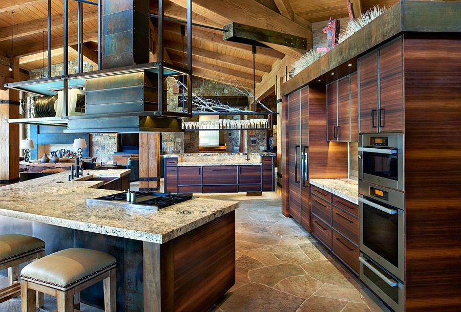 Eberl Residence Organic Fusion Of Rustic Beauty And