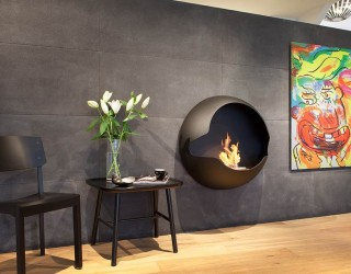 12 Cozy & Portable Fireplace Ideas for the Modern Home