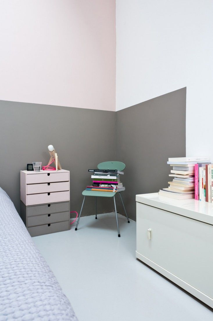 Pastel Bedroom Colors 22 Clever Color Blocking Paint Ideas To Make Your Walls Pop