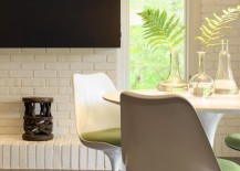 White-dining-set-against-a-white-brick-wall-217x155