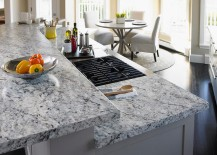 White ice granite formica laminate