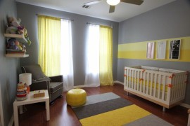 Yellow and gray nursery  25 Yellow Rug and Carpet Ideas to Brighten up Any Room Yellow and gray nursery