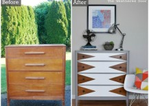 Mod Triangle Dresser - Before and After