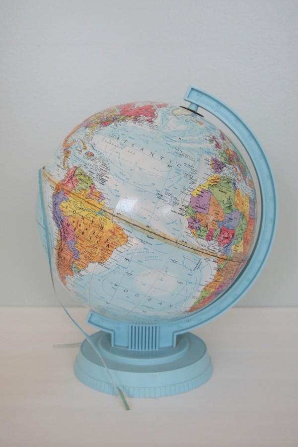 Globe before