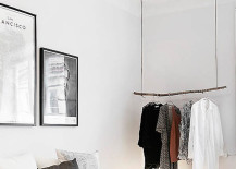 minimalist closet 17 217x155 18 Open Concept Closet Spaces for Storing and Displaying Your Wardrobe