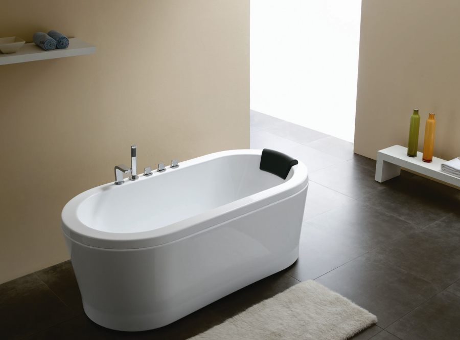Acrylic round bathtub from Modern Bathroom Vanities