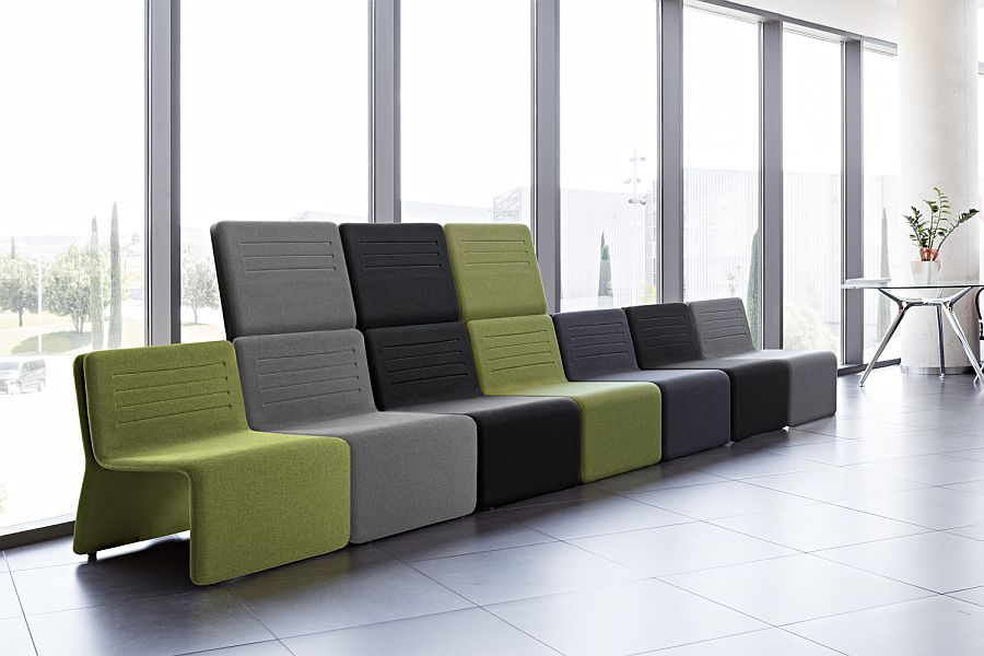 Actiu Shey modular seating by Ramos & Bassols
