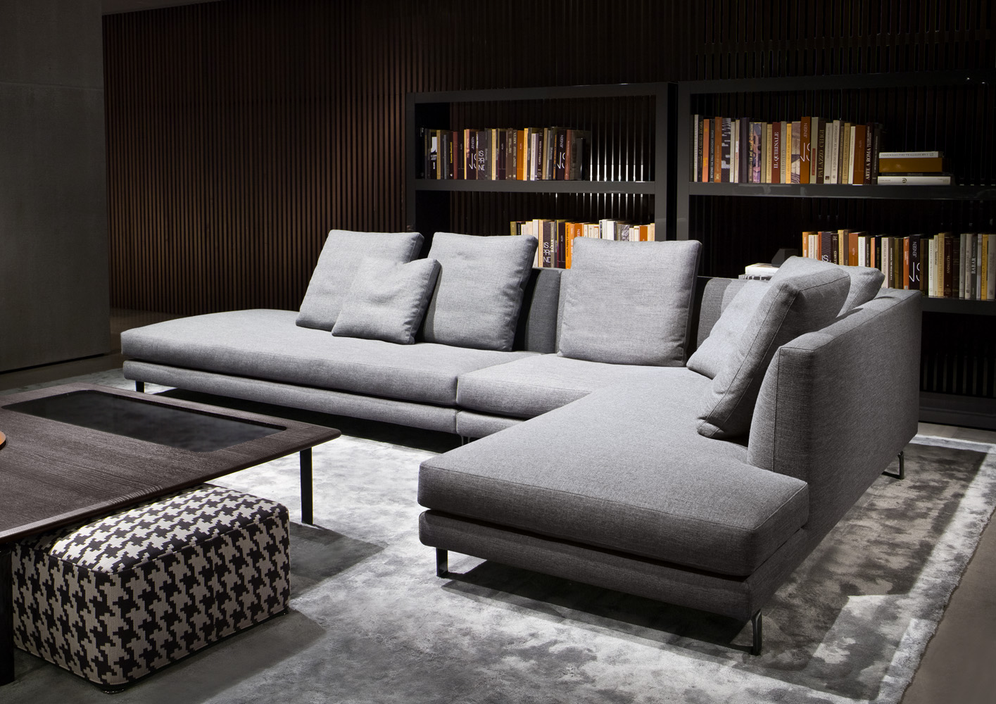 20 modish minotti sofas and seating systems for Minotti divani
