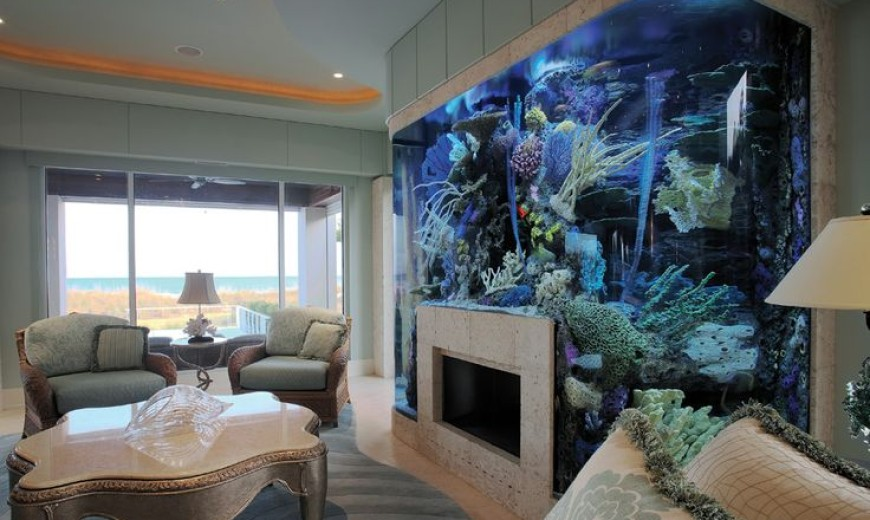 To Make Good Aquarium Design For Living Room