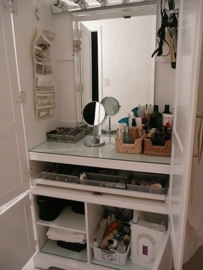 Home Makeup Station Ideas Makeup Vidalondon