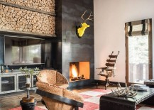 Tahoe Retreat: Inspired Rustic Mountain Escape for the Hip Modern Bachelor