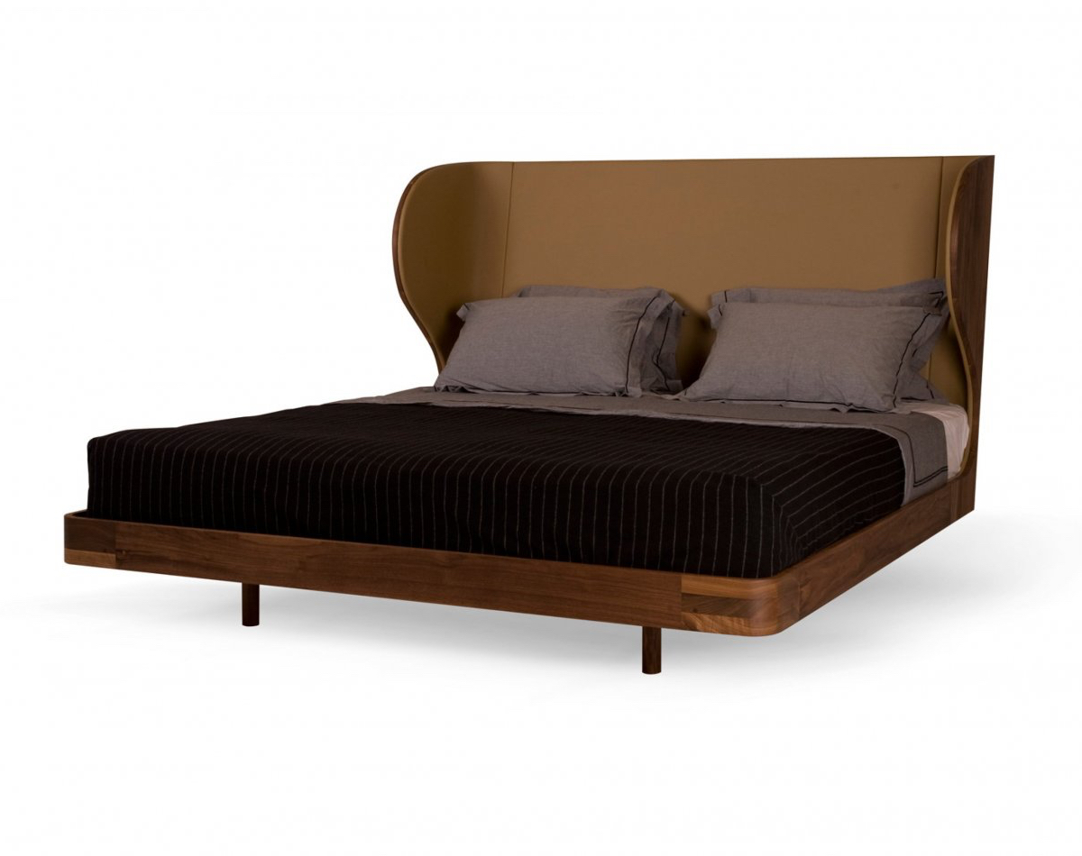Autoban Suite Bed in Danish oiled walnut