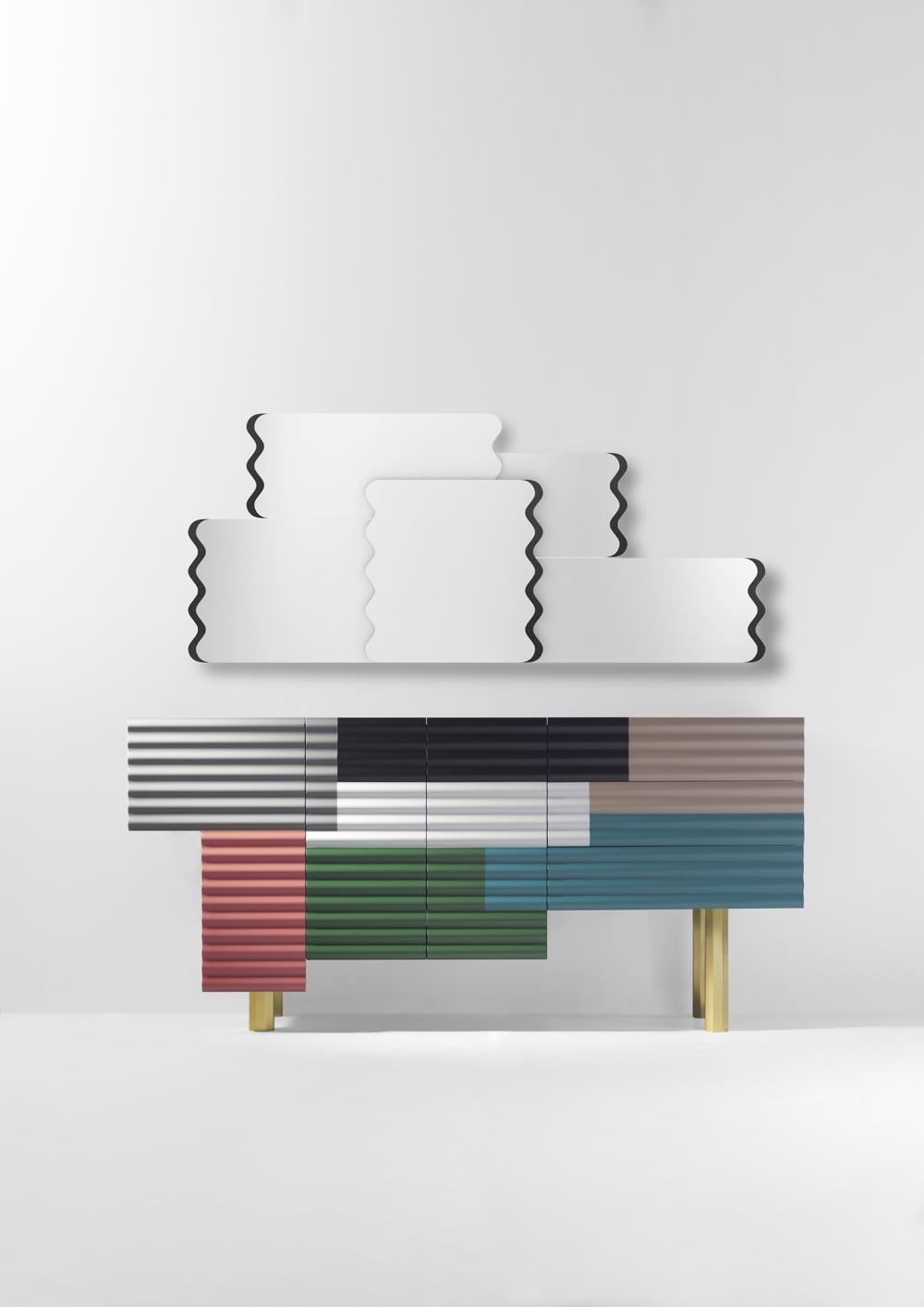 BD Barcelona Design Shanty cabinet & mirror 2