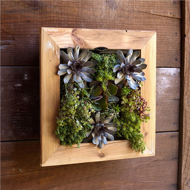 Bambeco Recycled Wood Planter