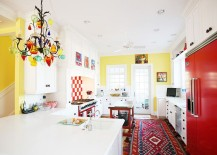 Beautiful kitchen with plenty of color and pattern