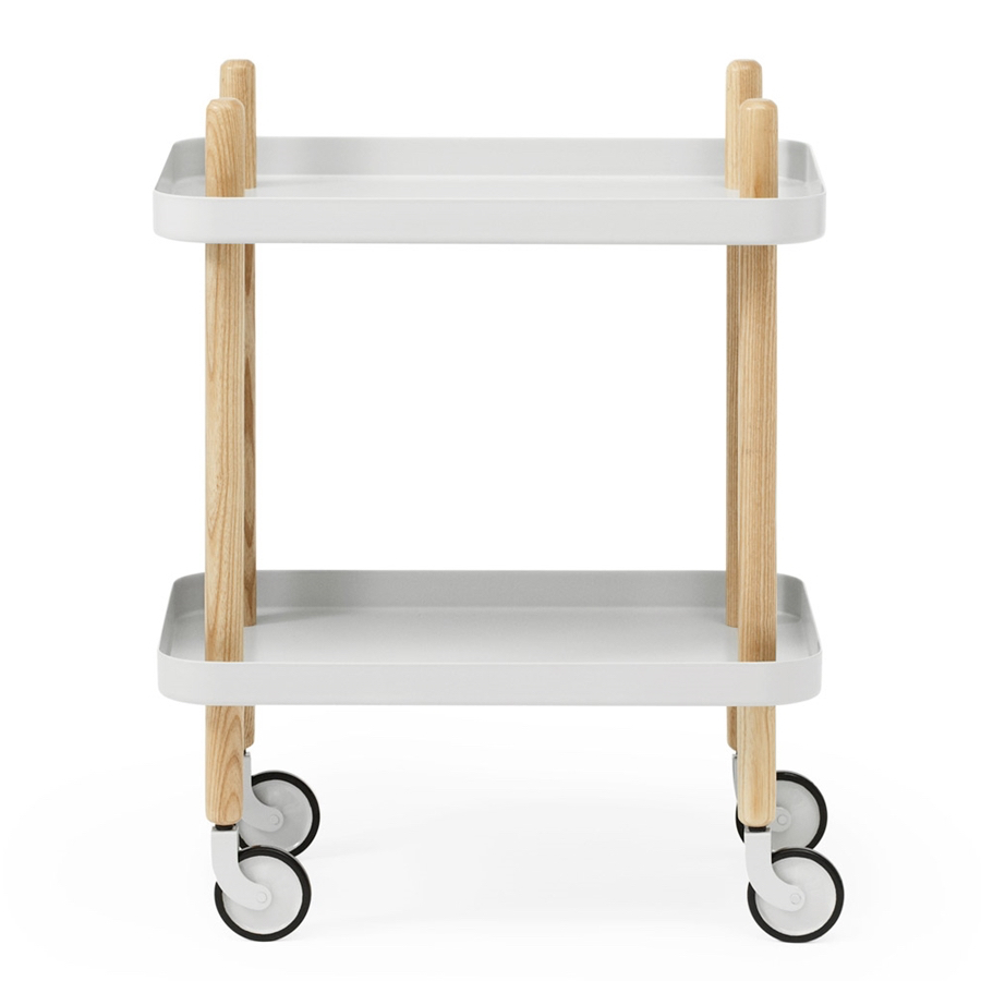 Block Table light grey
