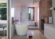 Brick-Chimney-Breast-in-the-contemporary-bathroom-with-standalone-tub-217x155