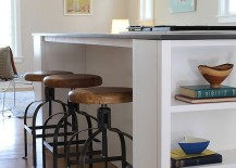 Built-in-shelving-for-cookbooks-complete-the-contemporary-kitchen-island-217x155