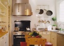 Butcher block kitchen island for the small kitchen