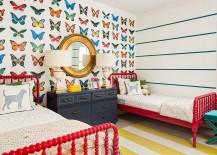 Butterfly wallpaper from J & J Design Group