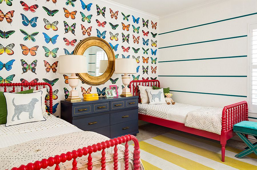 Butterfly wallpaper from J & J Design Group