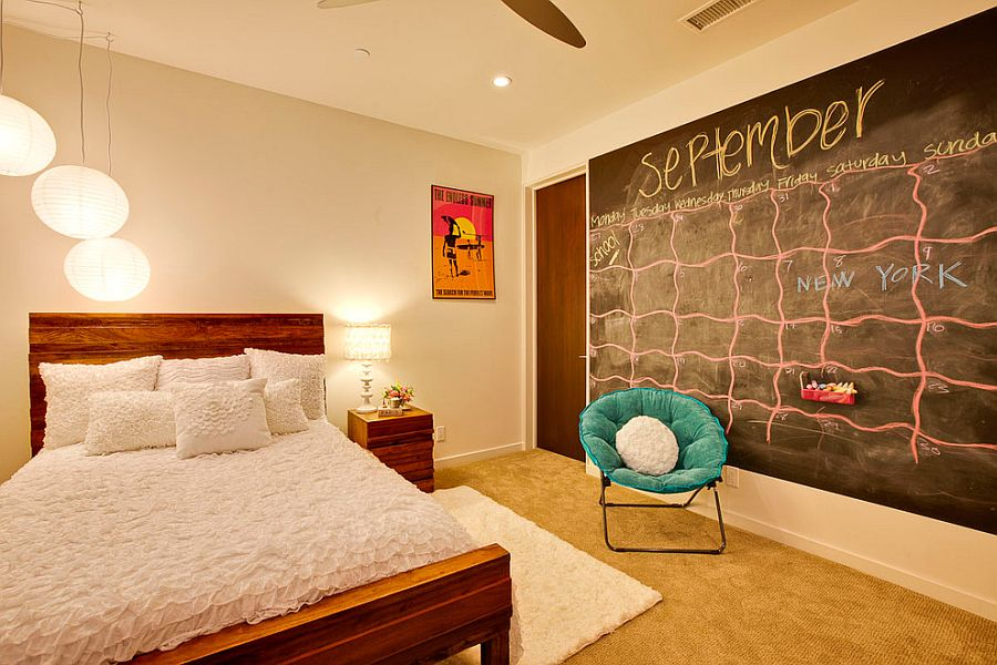 ... Chalkboard Wall Idea That Helps Keep Your Life More Organized! [Design:  KKC Fine