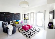 Chic-modern-bedroom-with-color-creativity-and-chalkboard-wall-217x155